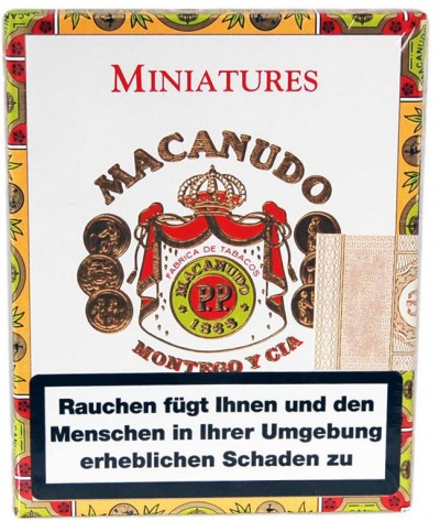 Macanudo Cafe - Miniatures (8er Pappschatulle)